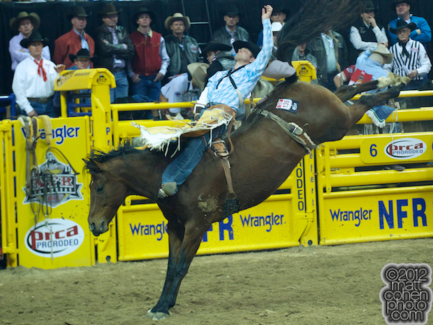 2012 National Finals Rodeo - Bareback Stock - Fancy Free of Classic Pro Rodeo