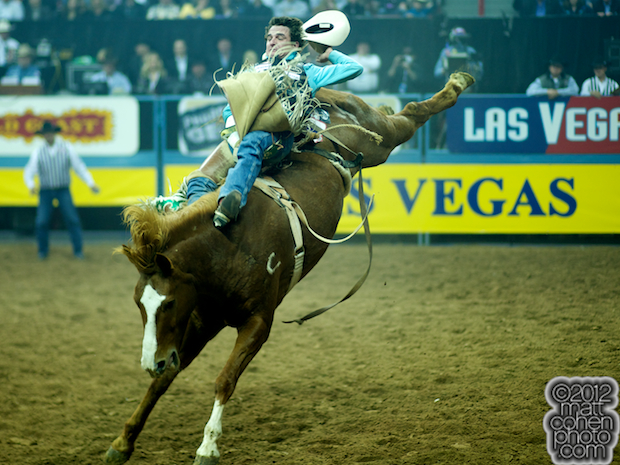 2012 National Finals Rodeo - Bareback Stock - Good Time Charlie of Classic Pro Rodeo