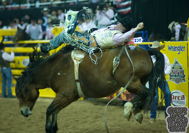 2012 National Finals Rodeo - Bareback Stock - Scarlett's Web of Classic Pro Rodeo