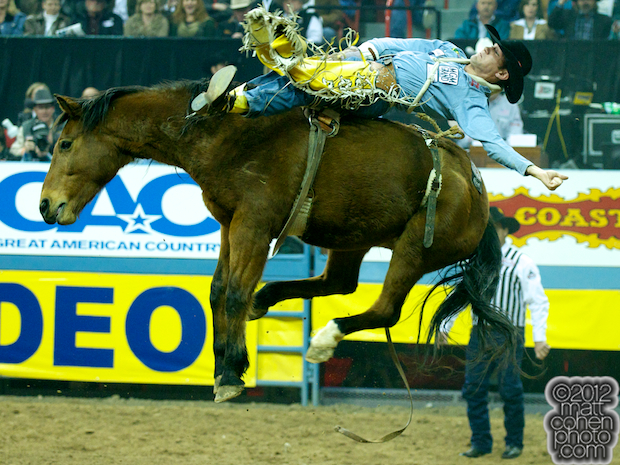 2012 National Finals Rodeo - Bareback Stock - Nutrena's Wise Guy of Classic Pro Rodeo