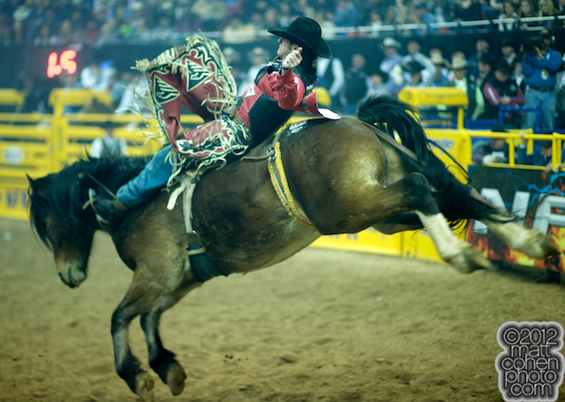 2012 National Finals Rodeo - Bareback Stock - Delta Force of Frontier Rodeo Co.