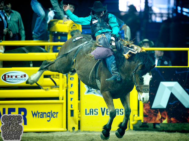 2012 National Finals Rodeo - Bareback Stock - Hypnotic of Harry Vold Rodeo Co.