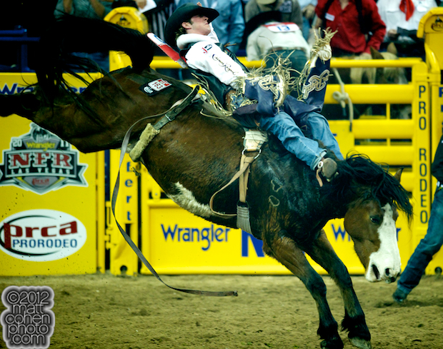 2012 National Finals Rodeo - Bareback Stock - Dirty Rags of J Bar J