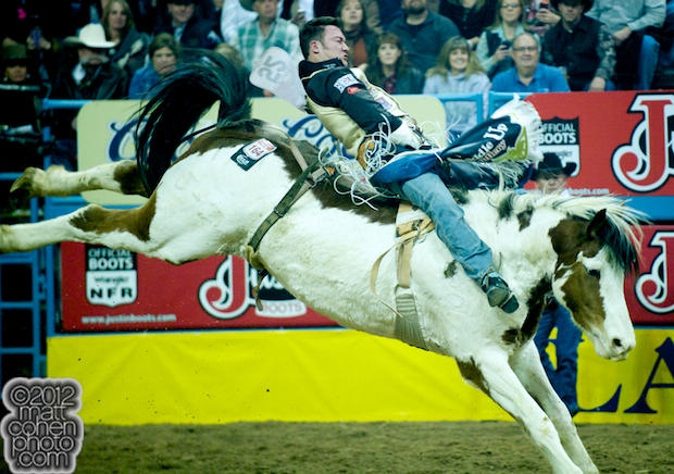 2012 National Finals Rodeo - Bareback Stock - First Light of J Bar J