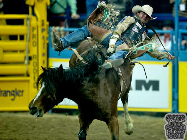 2012 National Finals Rodeo - Bareback Stock - Delta Glamorous of Lancaster & Pickett
