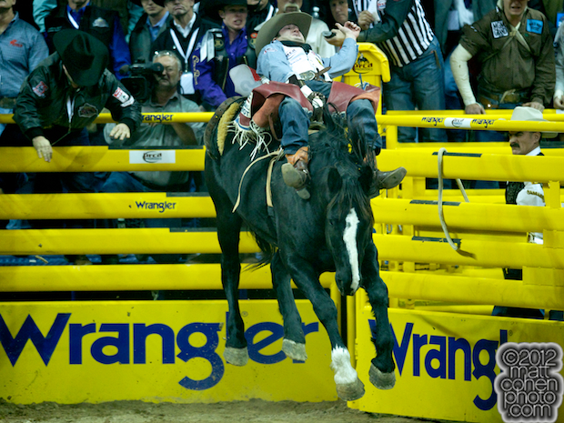2012 National Finals Rodeo - Bareback Stock - Magic Wars of Mosbrucker Rodeos