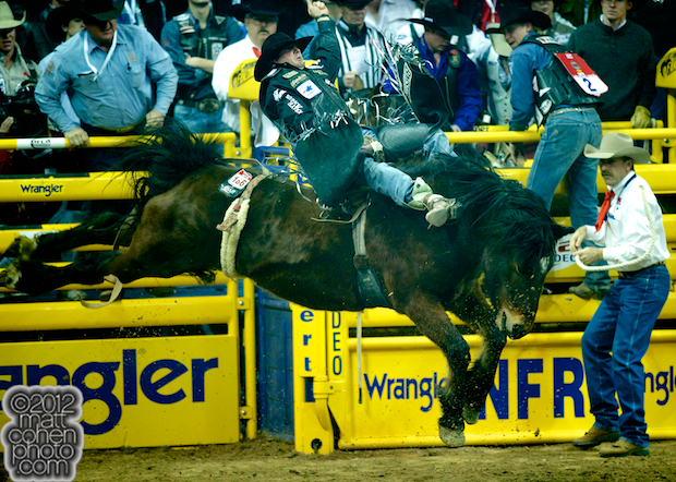 2012 National Finals Rodeo - Bareback Stock - Big Prize of Powder River Rodeo