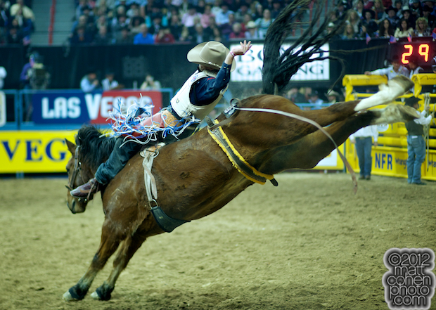 2012 National Finals Rodeo - Bareback Stock - RD Mercer of Stace Smith Pro Rodeo