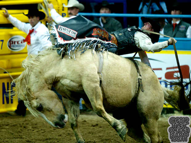 2012 National Finals Rodeo - Bareback Stock - Peaches & Cream of Three Hills Rodeo