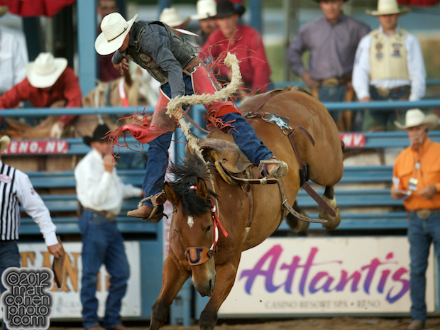 2012 National Finals Rodeo- Saddle Bronc Stock - Hat Stomper of Rosser Rodeo