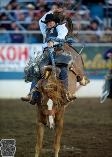 2012 National Finals Rodeo- Saddle Bronc Stock - Broken Saddles of Flying Five Rodeo