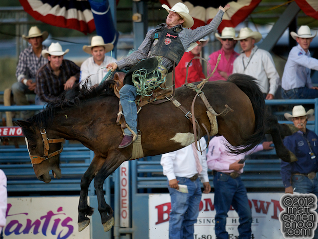 2012 National Finals Rodeo- Saddle Bronc Stock - Kool Toddy of Big Bend Rodeo