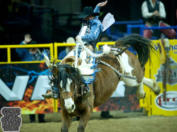 2012 National Finals Rodeo- Saddle Bronc Stock - Hippy Chick of Burch Rodeo Company