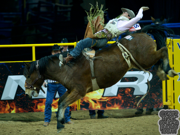 2012 National Finals Rodeo- Saddle Bronc Stock - Big Tex of Classic Pro Rodeo