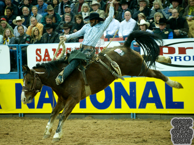2012 National Finals Rodeo- Saddle Bronc Stock - Gold Coast of Classic Pro Rodeo