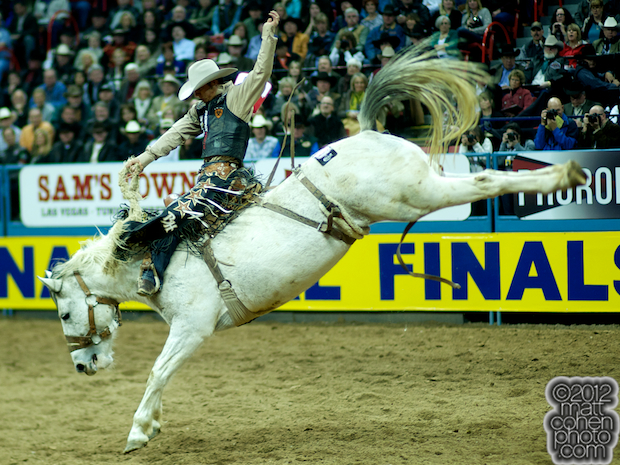 2012 National Finals Rodeo- Saddle Bronc Stock - Lori Darling of Classic Pro Rodeo