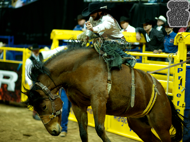 2012 National Finals Rodeo- Saddle Bronc Stock - Medicine Woman of Frontier Rodeo Co