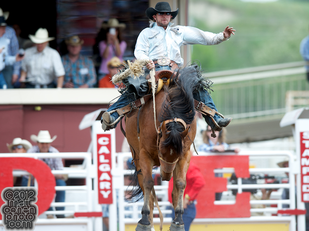 2012 National Finals Rodeo- Saddle Bronc Stock - Get Smart of Harvey Northcott Rodeo