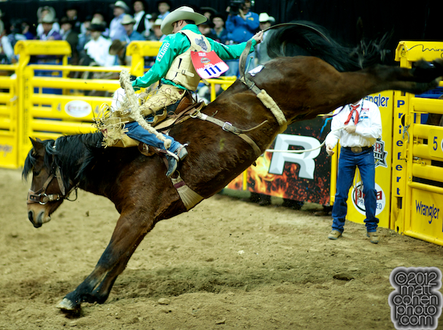 2012 National Finals Rodeo- Saddle Bronc Stock - Special Time of J Bar J