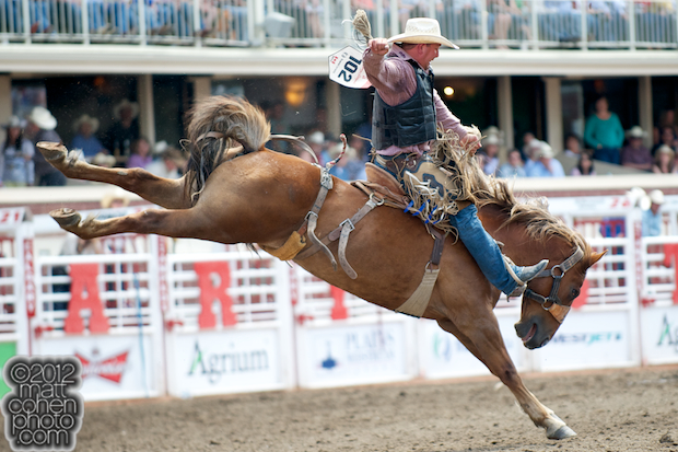 2012 National Finals Rodeo- Saddle Bronc Stock - Bald Lie of Wayne Vold Rodeo