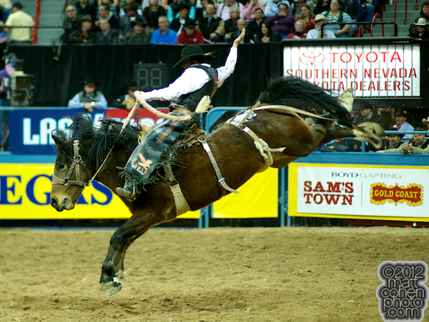 2012 National Finals Rodeo- Saddle Bronc Stock - Lipstick & Whiskey of Powder River Rodeo