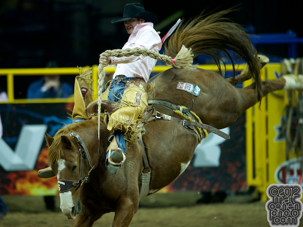 2012 National Finals Rodeo- Saddle Bronc Stock - Painted Feather of Smith Harper & Morgan