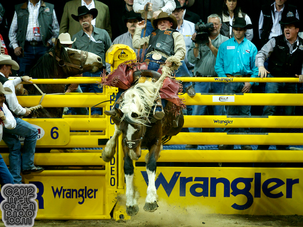 2012 National Finals Rodeo- Saddle Bronc Stock - Hickock of Stace Smith Pro Rodeos