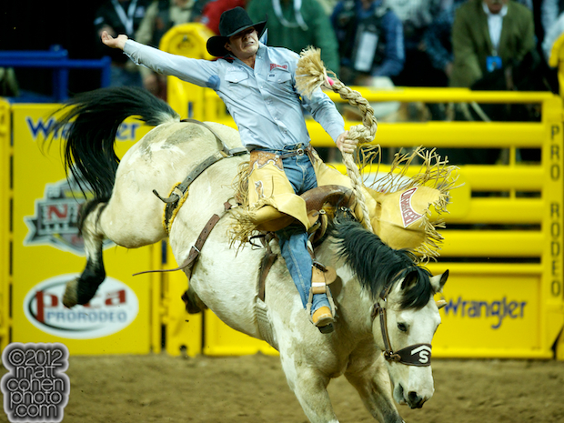 2012 National Finals Rodeo- Saddle Bronc Stock - Pretty Boy of Stace Smith Pro Rodeos
