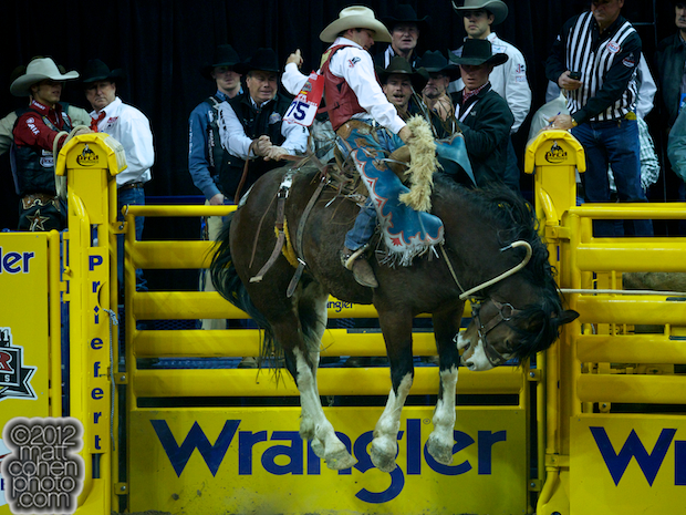 2012 National Finals Rodeo- Saddle Bronc Stock - Chuckulator of Sutton Rodeos, Inc