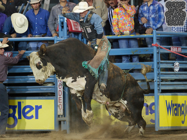 2012 National Finals Rodeo- Bull Riding Stock - Ugly Time of Growney Brothers Rodeo Co