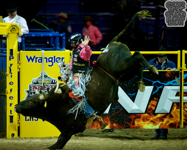 2012 National Finals Rodeo- Bull Riding Stock - Zombie Zoo of Burch Rodeo Co