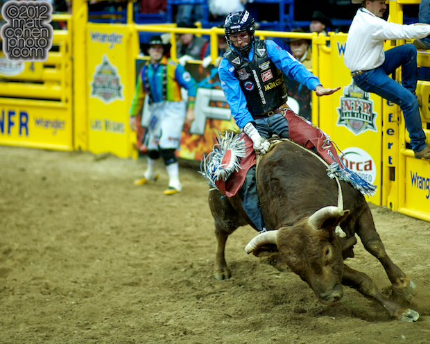 2012 National Finals Rodeo- Bull Riding Stock - Coopers Magic of Burns Rodeo Co