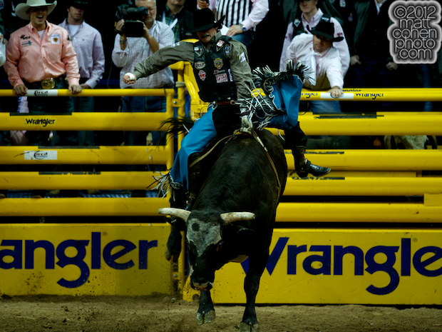 2012 National Finals Rodeo- Bull Riding Stock - Diamond Joe of Classic Pro Rodeo
