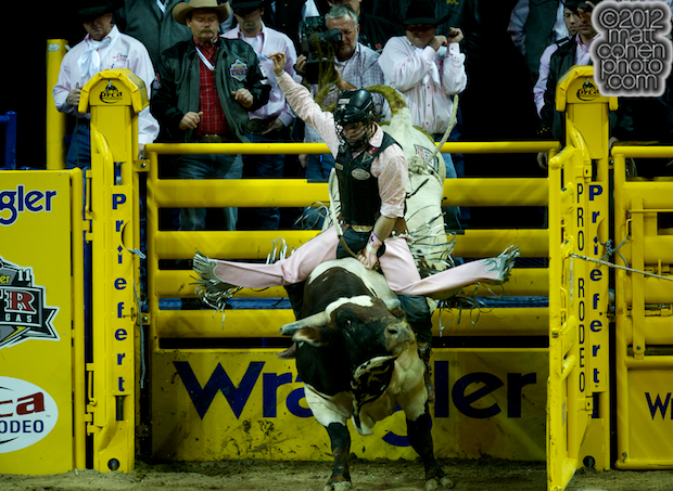 2012 National Finals Rodeo- Bull Riding Stock - King of Hearts of Corey & Lange Rodeo