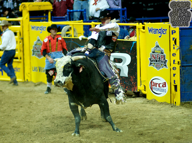 2012 National Finals Rodeo- Bull Riding Stock - Shepherd Hills Sod Buster of D&H Cattle