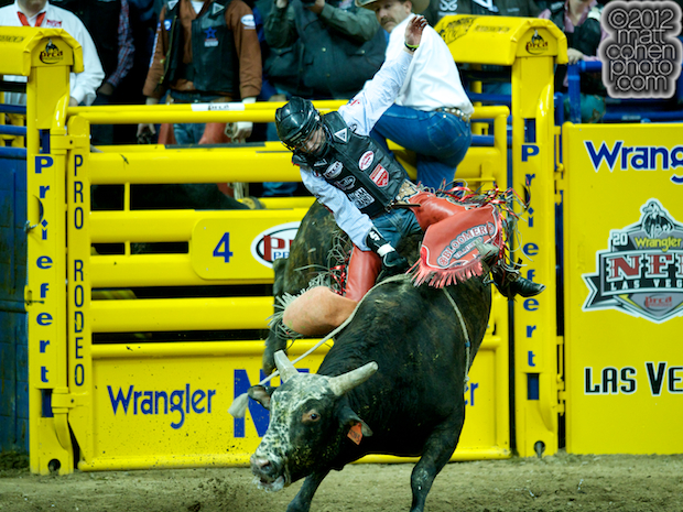 2012 National Finals Rodeo- Bull Riding Stock - Feeling So Fly of Frontier Rodeo Co