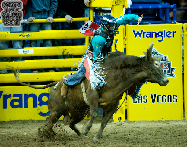 2012 National Finals Rodeo- Bull Riding Stock - Red River of Mo Betta Rodeo