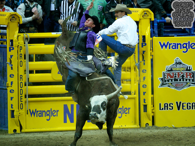 2012 National Finals Rodeo- Bull Riding Stock - Fat Lip of Wild Card Rodeo