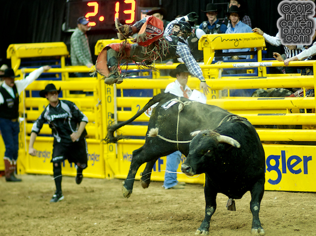 2012 National Finals Rodeo- Bull Riding Stock - Pocket Change of Wild Card Rodeo