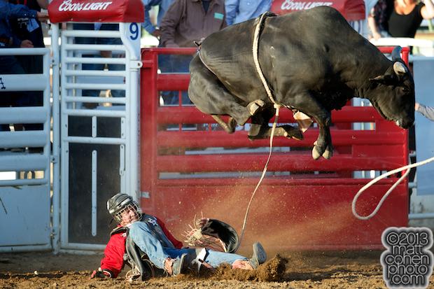 2013 Clovis Rodeo Roughstock Matt Cohen