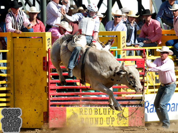 2013 Red Bluff Round-Up - Tyler Stueve Knoles