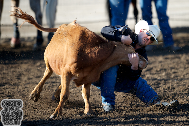 2013 Oakdale Rodeo - Luke Branquinho