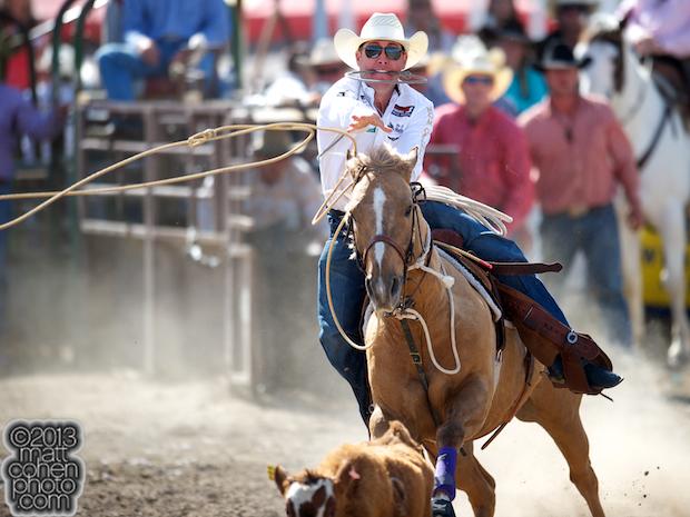 2013 Oakdale Rodeo - Trevor Brazile