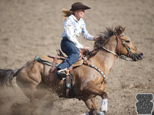 2013 Oakdale Rodeo - Danna Stovner