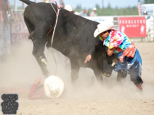 2013 Oakdale Rodeo - Aaron Hargo