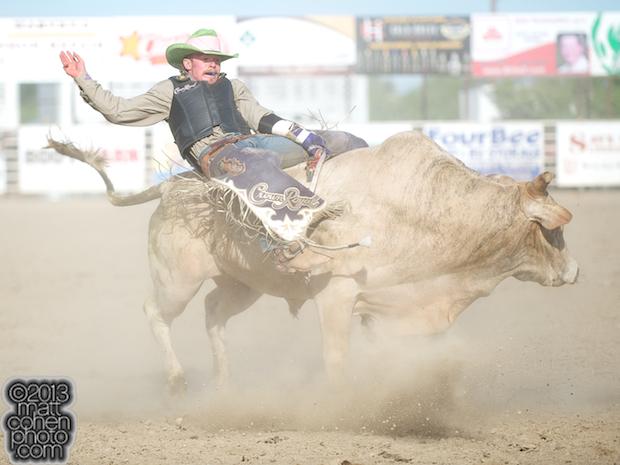 2013 Oakdale Rodeo - Steve Woolsey
