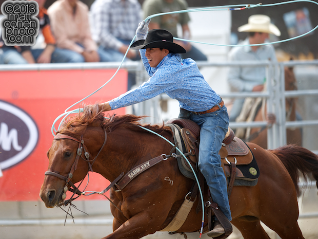 2013 Redding Rodeo - Derrick Begay