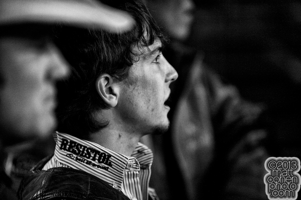Bull rider Chandler Bounds of Lubbock, TX at the Reno Rodeo in Reno, NV.