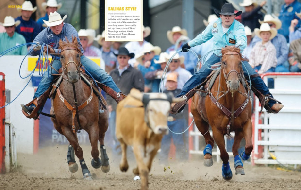 Spin to Win Rodeo - September 2013 - Kaleb Driggers & Travis Graves spread