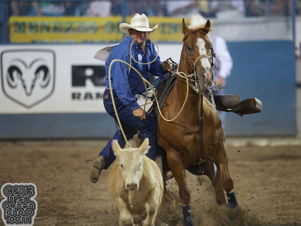 2013 NFR Tie-down Roping Qualifier #11 - Shane Slack of Idabel, OK
